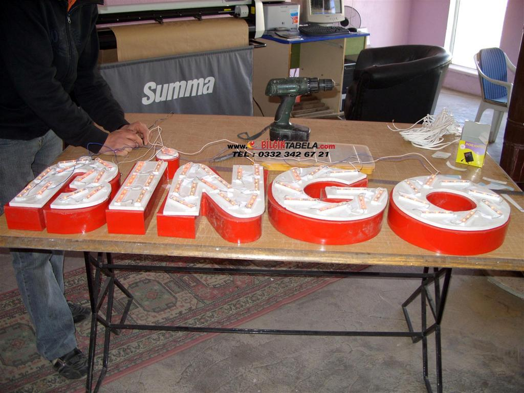 Bingo Fast Food led tabela imalatı